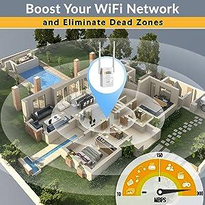 wifi extender internet booster range signal repeater wifi extenders signal booster home superboost