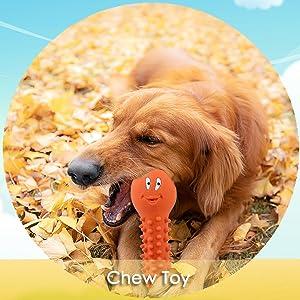 wieppo dog chew toy with squeaker