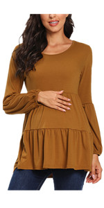 maternity shirts long sleeve