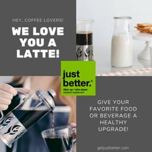 Latte just better
