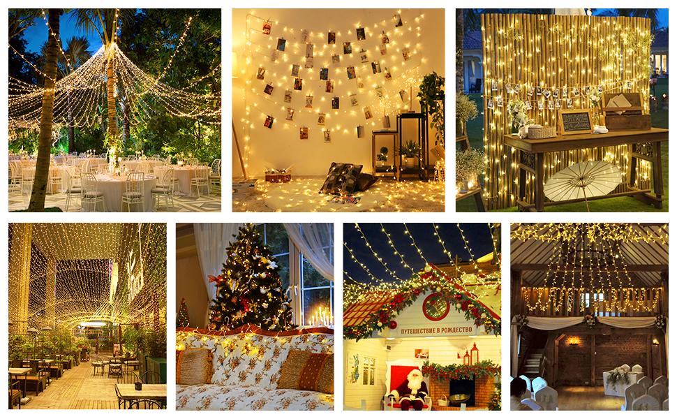 warm white christmas lights