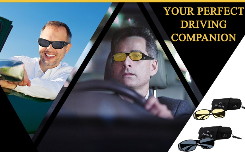 Optix 55 driving glasses are your perfect driving companion