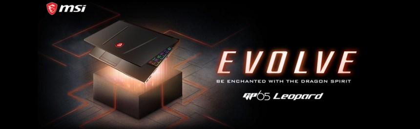 New MSI GP65 Leopard Gaming Laptop