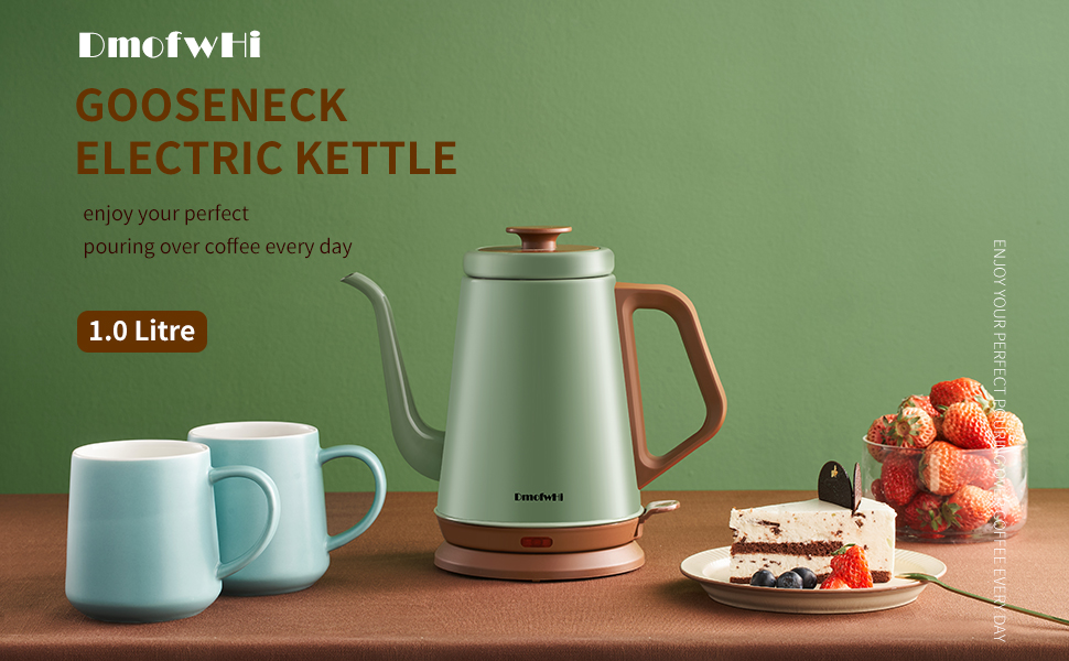 Gooseneck electric kettle