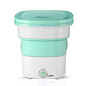Easy Fast use Washing Machine fully automatic washer Foldable bucket quick to install clothes wash