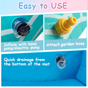outdoor water toys for 3 year old boys sprinkler water toys for 2 year old girls splash pad for baby