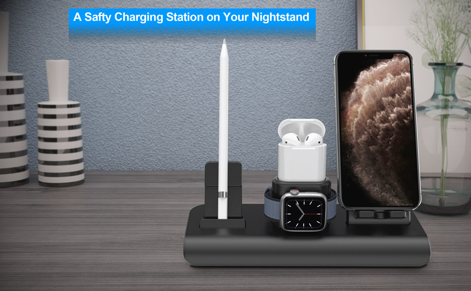 wireless charger charging dock for iphone