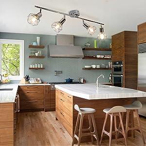 kitchen track light
