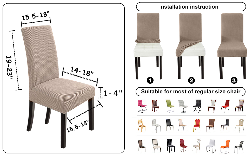 dining room chair slipcovers set of 6