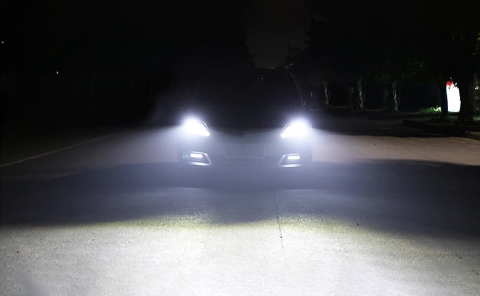 Crystal clear super white bright lighting effect hid headlight