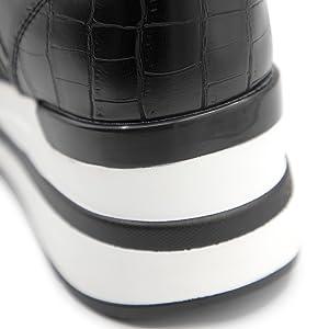 womens wedge sneakers