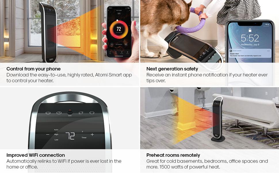 Smart WiFi Heater