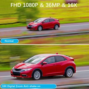 16X Digital Zoom & Anti-Shake