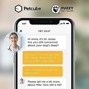 Built-in Vet Chat