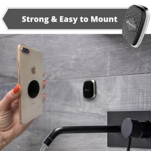 Magnetic Phone Holder, Universal Dashboard Magnet Car Mount for Cell Phones and Mini Tablets