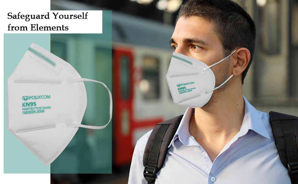 KN95 mask offers 360 degree protection