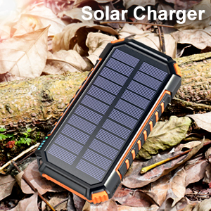 Wireless solar charger