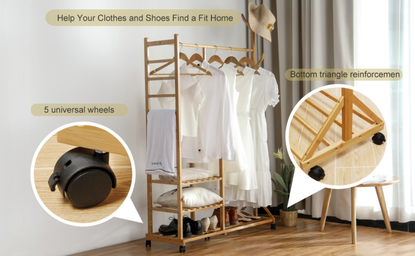help your clothes and shoes find a fit home