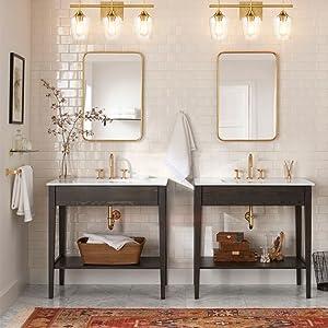 mirror wall sconces