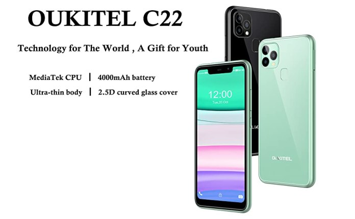 OUKITEL C22