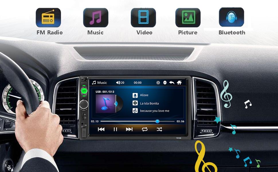 podofo Car MP5 Player