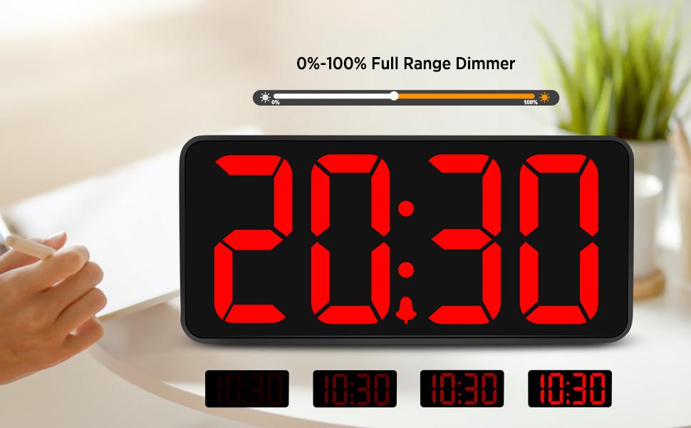 large digital clock