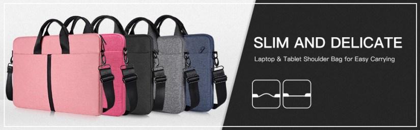 17-17.3 Inch Waterproof Laptop Shoulder Bag Ladies Women Briefcase