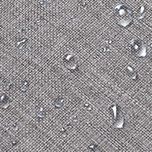 Water resistant canvas with complete lining, load-bearing but lightweight.