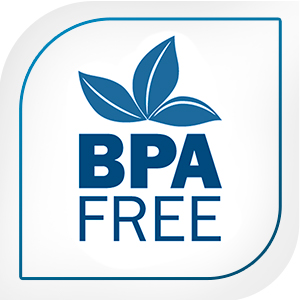 BPA free badge earned by our cold coffee maker
