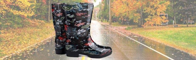 rain boots,rain shoes,rubber boots,wide calf boots,water boots,rainboots,garden shoes,floral boots