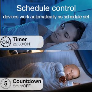 Set Schedules / Timer