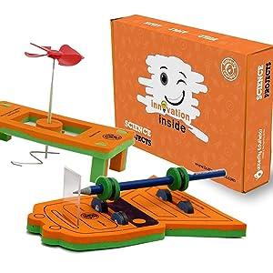 Mini Bullet Train DIY Kits for Kids Magnetic Levitation Train Toy STEM STEAM Toys Gift