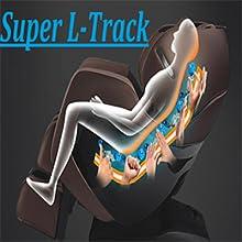 Massage chair, SL track Massage chair, L track Massage chair, Heated massage chair
