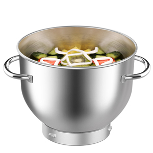 6.0 QT Stainless Bowl with Handles