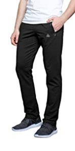 SCR SPORTSWEAR Mens Sweatpants with pockets black tall men 36 inseam