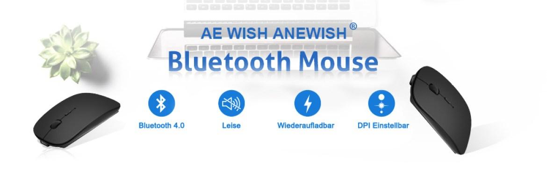 Bluetooth mouse iPad iPhone Mac.