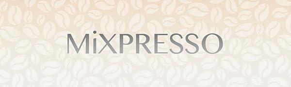 Logo compact coffee machine