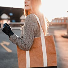 majnberg kraftpapier Shopper vegan umwelt-schonend nachhaltig tasche bag beutel einkaufen papier