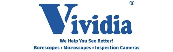 Vividia, Borescopes, Mikroskoplar, Büyüteçler, Muayene Kameraları