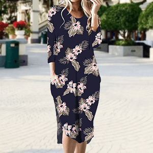 floral dress for women