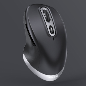 ergonomic type c wireless mouse black and space gray a+ (3)