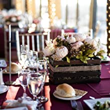 artificial peony flowers for table centerpiece decoration