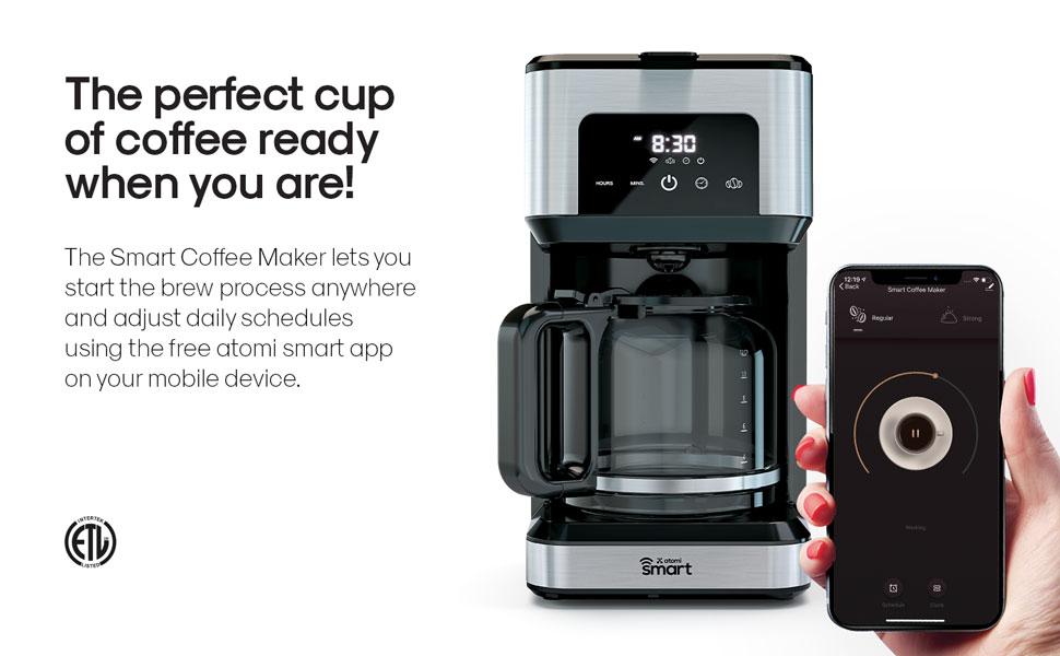 Smart WiFi Coffee Maker 2nd Generation