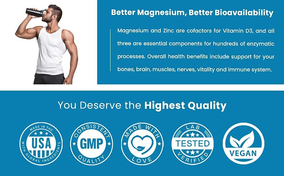 magnesium glycinate wth zinc picolinate