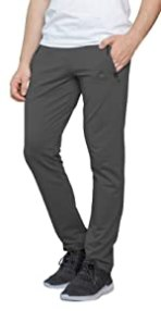 dark platinum grey mens sweatpants with pockets and open bottom tall men extra long inseam cotton