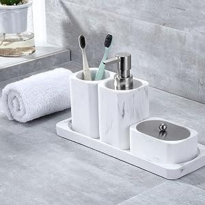 Bath Accessories Set