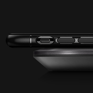 iphone 11 pro rugged armor - black