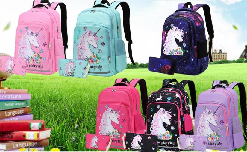 unicorn backpack for girls