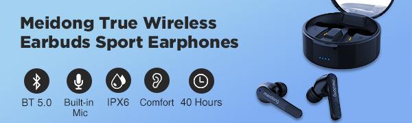 Meidong True Wireless Earbuds KY06