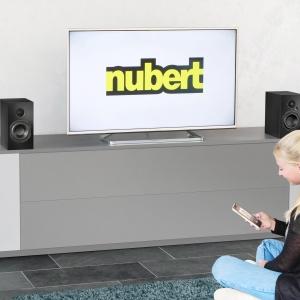 Nubert nuBox A-125 Schwarz als TV-Lautsprecher